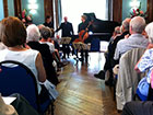 Wye Valley Music, piano trio concert at Bridges Community Centre, Monmouth.