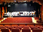 Concert tuning at Malvern Theatre for the CBSO