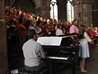 Piano hire for the Three Choirs Festival 2012, in Hereford Cathedral